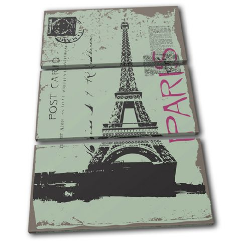 Paris Eiffel Tower Landmarks - 13-2033(00B)-TR32-PO